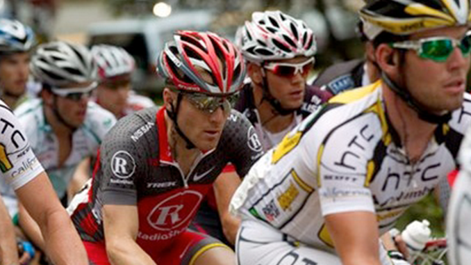 Nevada City Hosts Lance Armstrong & the Amgen Tour