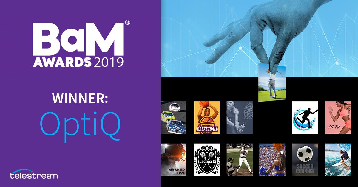 OptiQ Wins 2019 BaM Award